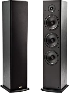 Polk T50 150 Watt Home Theater Floor Standing Tower Speaker (Single) – Premium..