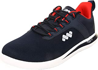 Spunk by FBB Men's Navy Knitted Lace-up Walking Shoes (7 UK)