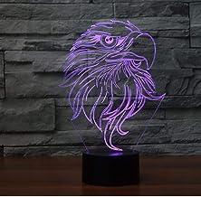 LED-nachtlampjes 3D illusie nachtkastje lamp 17 kleuren veranderende slaapverlichting Smart Touch Button verjaardagscadeau...