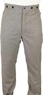 Edwardian Men's Pants, Trousers, Overalls Historical Emporium Mens trousers $69.95 AT vintagedancer.com