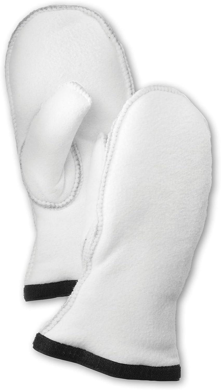 Hestra Gloves 34091 Women's Heli Ski Liner Mitt, Offwhite - 8
