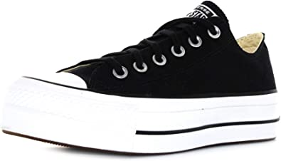 Converse Women's Chuck Taylor All Star Metallic Platform Low Top Sneaker