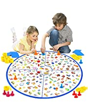 VATOS Board Game, Kids Educational Board Game Little Detective Card Game Tabletop Game for Kids Families Party, Train Your Responsiveness Toys for Kids Toddlers 3,4,5,6,7 Years Old Boys & Girls