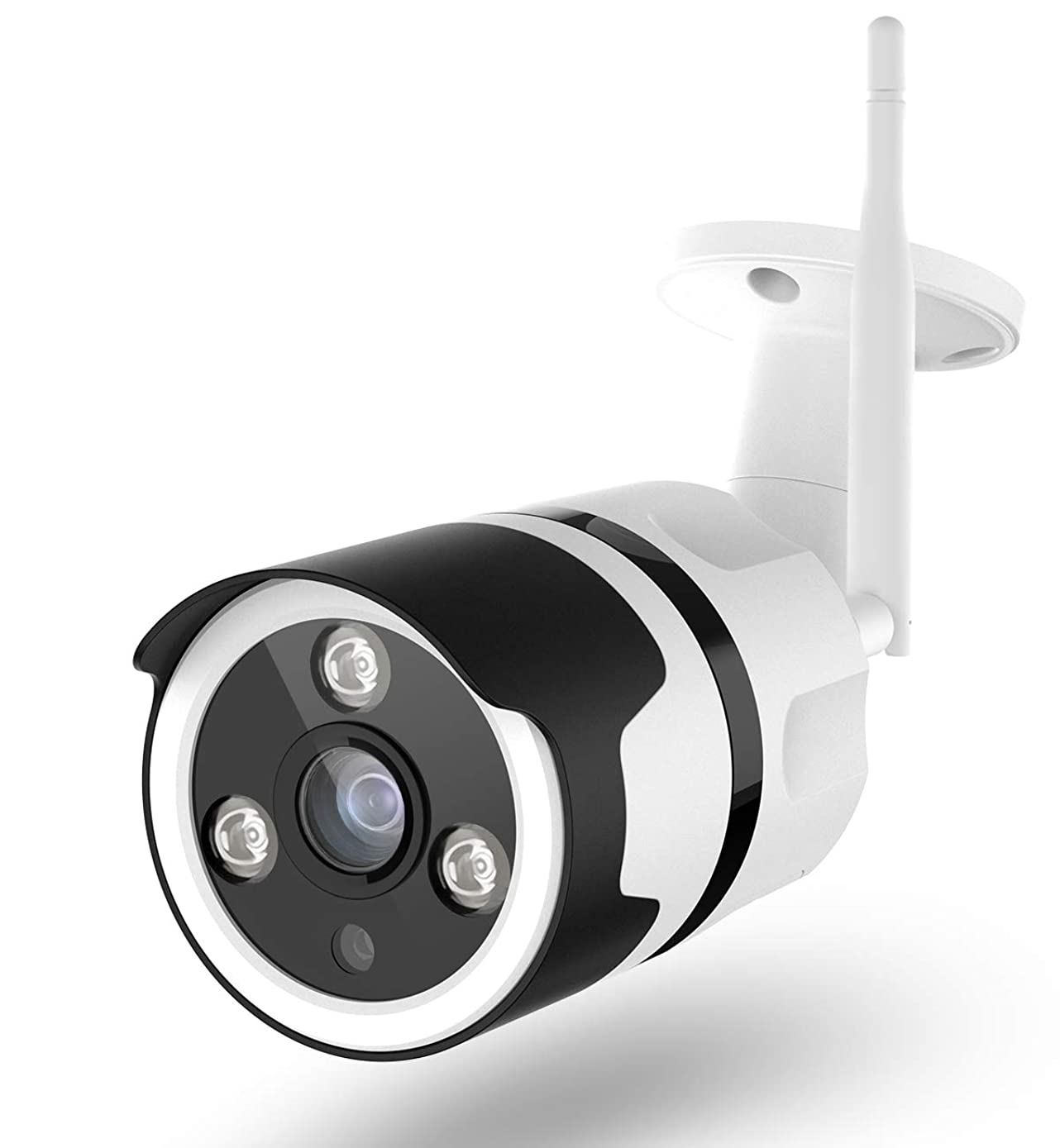 Outdoor Security Camera, 1080P Surveillance Cameras Outdoor WiFi Camera Two-Way Audio, IP66 Waterproof, FHD Night Vision, Motion Detection Camera with Cloud Storage for Videos