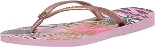 havaianas Women's Slim Royal Sandal, Aubergine
