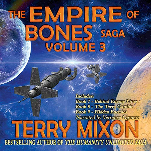 The Empire of Bones Saga Volume 3  By  cover art