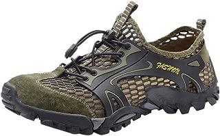 Men's Casual Flat Shoes,Outdoor Water Shoes Pool Beach Swim Comfort Walking Travel Shoe