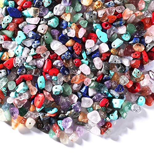 200 Pezzi Chip Di Gemme Di Cristalli Perline Di Chip Di Pietre Preziose Perline Di Pietre Preziose Chip Perle Naturali Irregolari Gemme Di Chip Irregolari Per Orecchino Braccialetto Collana E Gioielli