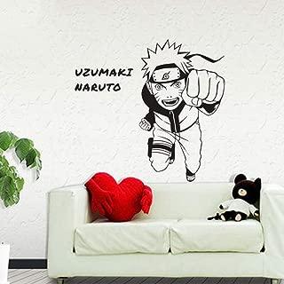 Wall Art Decal Sticker Naruto Japanese Cartoon Car Sticker Uzumaki Naruto Decal Posters Vinyl Wall Decals Pegatina Decor Mural Sticker