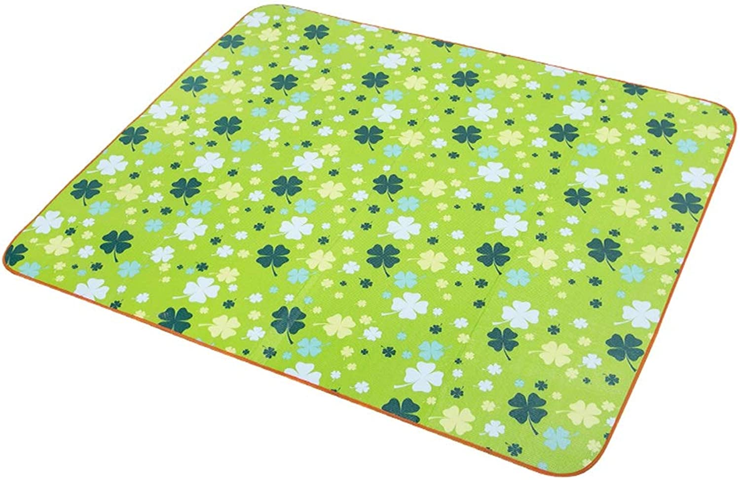YZOOL Picnic Mat Outdoor Spring Tour Mat Cloth Ins Wind Wild Picnic Camping Green Lawn Portable Moisture Pad Portable Easy to Clean Non-Stick Grass Non-Stick Soil Moisture Waterproof Insulation