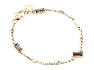 AllSaints Baguette Flex Bracelet (Black Diamond) Bracelet
