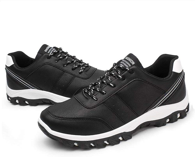 Dsx Men's shoes Running shoes Casual Sports shoes Pu Black and White Black and Red Black and Yellow, white, EU42 UK8.5 CN43