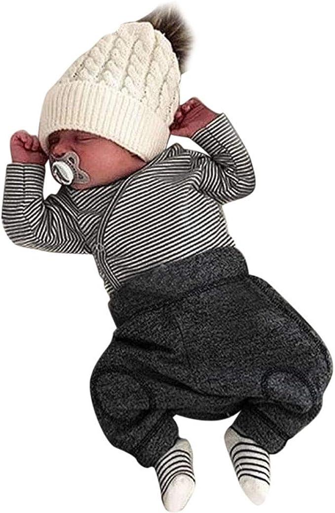 Trajes Mono Moda Bebé, LANSKIRT Recién Nacido Bebé Niño Niña ...