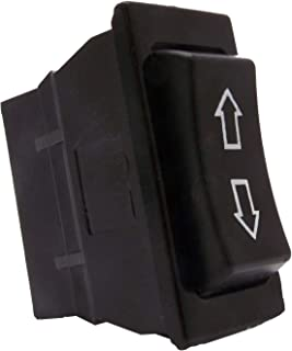 Sdootauto DC 12V 20A Momentary Power Window Rocker Switch 5 Pins DPDT for Auto Car