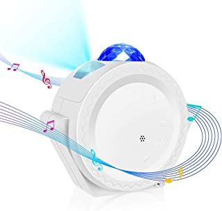 Smart Wifi Star Projector, Tanbaby Galaxy Cove Projector Light for Bedroom Work with App and Alexa, 3 in 1 Ocean Wave Star Light Projector for Bedroom LED Sky Cloud & Moon for Baby, Kids, Adults,Party