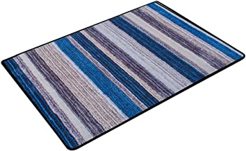 JIAJUAN Doormat Non-Slip Water Absorption Indoor Kitchen Bathroom Door Rug Dirt Trapper Mats Durable Floor Mat, Customizab...