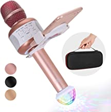 KaraoKing Karaoke Microphone – Wireless, Bluetooth Karaoke Machine for Kids &..