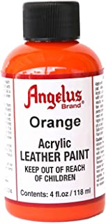 Angelus Leather Paint 4oz-Orange
