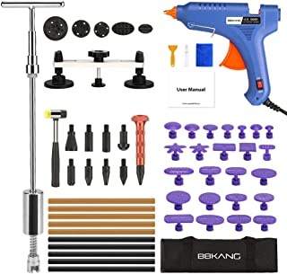 BBKANG Paintless Dent Repair Tools Kit - Car Dent Removal Kit Bridge Dent Puller Slide Hammer T-bar Tool for Small Dent Door Ding Hail Damage