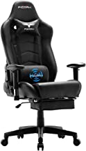 Ficmax Gaming Chair Massage Ergonomic Computer Gaming Chair Reclining Racing Office Chair..