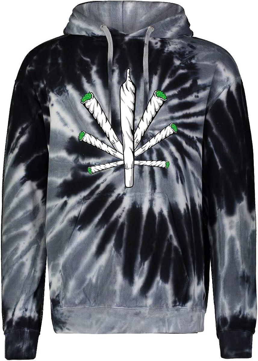 Cross Joint 420 Legalize Marijuana Sweatshi Mens Hooded Bargain sale excellence Weed