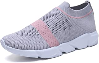 SKLT Light Running Shoes for Women Breathable Mesh Knit Sock Shoes Sneakers Ladies Trainers Jogging Gym Tennis Sport Shoes