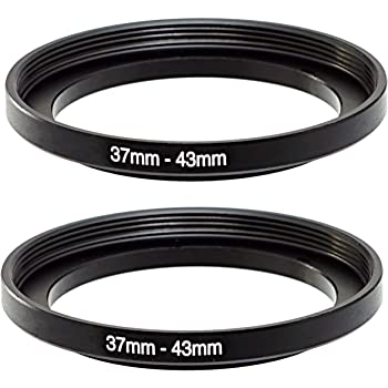3 Pack Sensei 39mm Lens to 77mm Filter Step-Up Ring