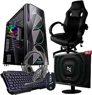 Pc Gamer Completo Start NLI82933 AMD 320GE 8GB (Vega 3 Integrado) 1TB + Cadeira Gamer