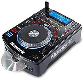 Numark NDX500 - Standalone USB/CD-speler en softwarecontroller met aanraakgevoelig jogwiel, audio-interface, Long Throw Pi...