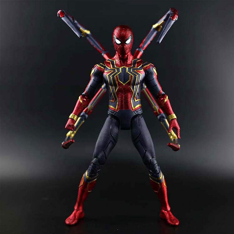 entrega de rayos Marvel Avengers  Infinity War 36CM Modelo De Personaje Animado Animado Animado De Iron Spider-Man para Niños  precio al por mayor