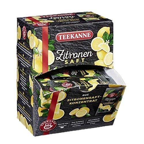 Teekanne Zitronensaft, 100 Glas- /Tassenportionen je 4ml 3er Pack