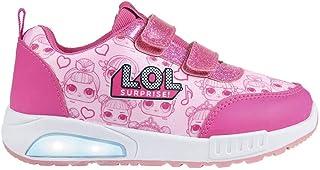 Deportiva Luces LOL, Zapatillas sin Cordones para Niñas