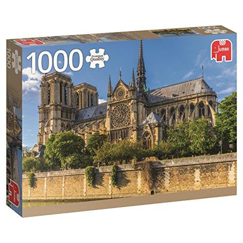 Jumbo- Notre Dame, Paris Puzzle de 1000 piezas (18528.0) , color/modelo surtido