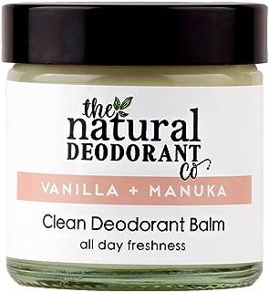 Clean Deodorant Balm Vanilla + Manuka by The Natural Deodorant Co. 60ml