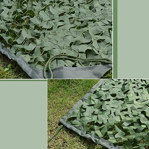 QIANGDA Camouflage Net Camo Netting Army Military Car-Covering Tent Hunting Blinds Fishing Shelter Camping Hide, Customizable Size (Size : 1.5x2.5m)