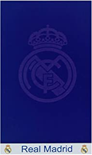 Licence officielle Real Madrid RM11 Serviette de Plage en Cotton 75x150 cm