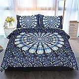 Impresión 3D Cielo Estrellado 3 Piezas Lavable Textiles para El Hogar Apartamento Hotel Ropa De Cama Funda Nórdica Funda Nórdica Funda De Almohada 228x228cm(WxH) D