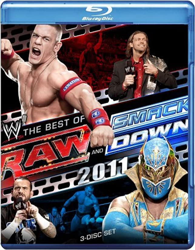 曲げるトチの実の木教えるRaw & Smackdown: The Best of 2011 [Blu-ray] [Import]