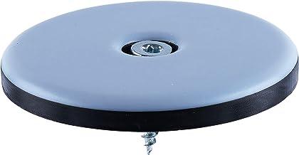 4 stuks Teflon meubelglijders rond Ø 50 mm - 5 mm dik incl. schroef 3,5 mm x 20 mm / PTFE coating / teflon glijders / meub...