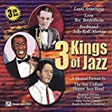 """album cover: 3 Kings of Jazz"""" by Jim Cullum Jazz Band"""