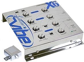 Lanzar VIBEX63Way Electronic Crossover/Crossover Network Silver