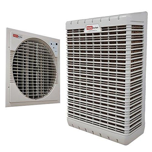 PARS EcoTech WM-6 Aire Acondicionado de bajo Consumo A+++ Solo 140w de Pared y Ventana montado para casa, Oficina, Tienda, etc.