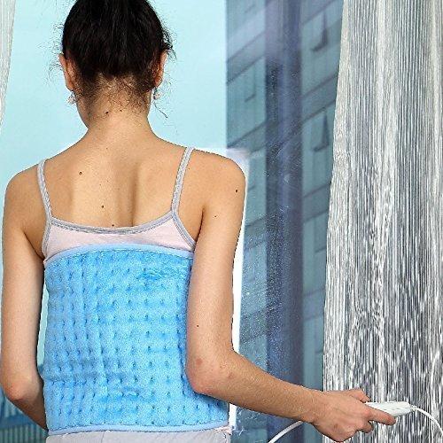 Syntrox Germany XXL - Manta eléctrica extraancha para vientre, espalda y riñones...