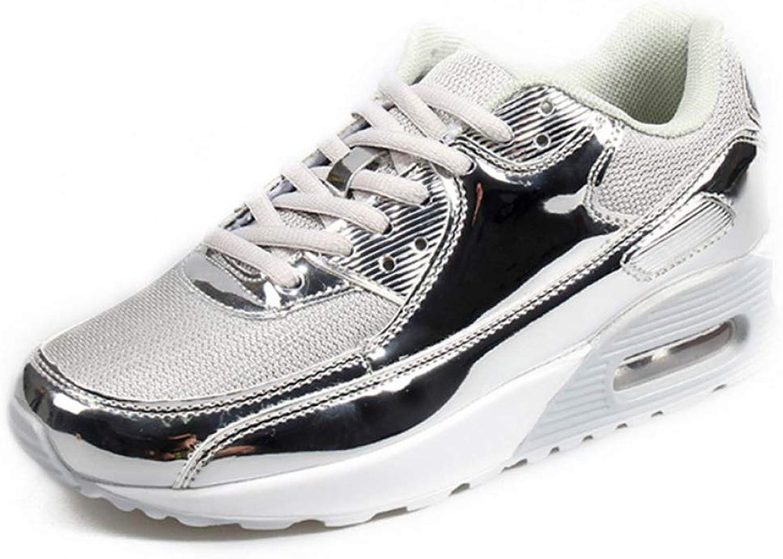 U-MAC Womens Wedge Sneakers Lace-Up Platform Lightweight Comfort Spirit Athletic Sports Jogging Running Walking shoes