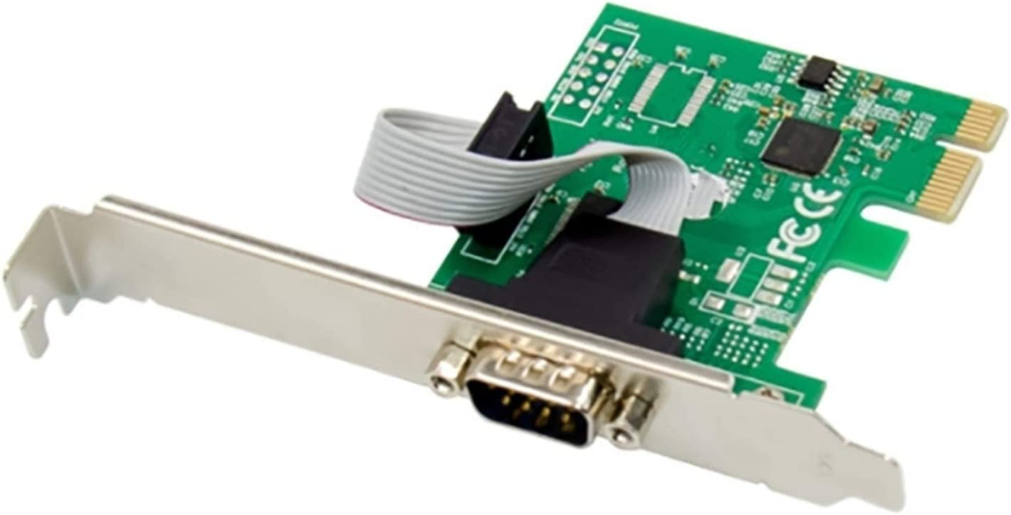YXZQ Computer Add-on Card PCIe DB-9-PIN Serial RS-232 Popular popular AX99100 1S Max 87% OFF