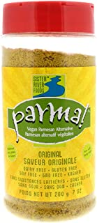 Parma! Vegan Parmesan - Original, Dairy-Free, Soy-Free and Gluten-Free Vegan Cheese, Plant-Based Superfood, Kosher (7 ounces)
