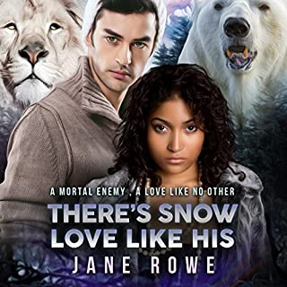 There's Snow Love Like His: A BWWM BBW Forbidden Shifter Romance for Adults audiobook cover art