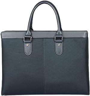 "Men's Accessories Men's Canvas Business Briefcase 13"" Laptop Bag Shoulder Messenger Bag Messenger Bag Outdoor Recreation (Color : Blue)"