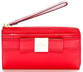 Kate Spade Primrose Hill Layton Leather Wallet Geranium