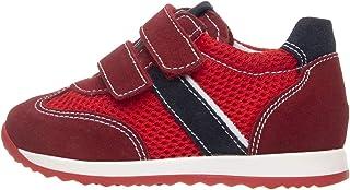 Nero Giardini P923451M Sneakers Kids Garçon en Cuir, Cuir Velours Et Toile